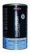 Indola Profession Rapid Blonde Blue Dust Free Powder Bleach 500G by Indola
