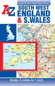 South West England & South Wales Road Map