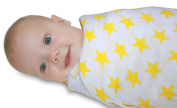 Swaddle Blanket - 100% Organic Cotton Muslin Baby Blankets Shower Gift by Little Snuggle Bug
