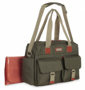 Carter's Utility Duffle Nappy Bag, Olive Green