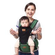 BINGONE Summer Ventilate Style Soft Toddler Baby Carrier Baby Backpack Green