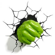 Marvel Comic 3D Hulk Fist Wall Light