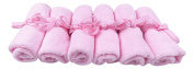 Baby Washcloths - Softest, Organic Bamboo Towels - Guaranteed Best Cloths - Pink
