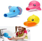 Cartoon Faucet Extender Kids Children Hand Washing Helper