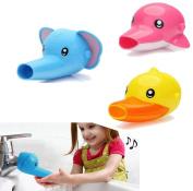 Cartoon Faucet Extender Kids Children Hand Washing Helper