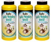 Anti Monkey Baby Butt Nappy Rash Powder with Calamine 180ml- (Pack of 3) by DSE HEALTHCARE SOLUTIONS LLC