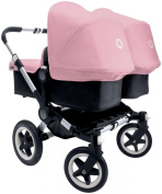 Bugaboo Donkey Complete Twin Stroller - Soft Pink - Aluminium