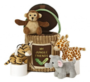 Aurora World Baby Talk My Jungle Friends Carrier Plush, 20cm