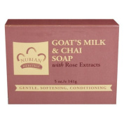 Nubian Heritage Soap Bar, Goats Milk and Chai, 150ml