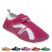 GALLUX Children's Bathing Shoes Aqua Shoes with Uv-Protection Aquaschuhe Swimming Pool Beach Swimming Pool for boys and girls unisex Velcro, sporty style slippers