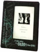 Lillian Rose Picture Frame, Daddy Genes, 10cm x 15cm