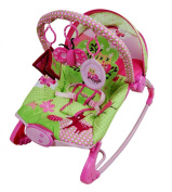 Mouse over image to zoom. Details about Pink Owl Baby Bouncer Rocker Cradle Vibrating Musical From Birth