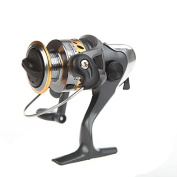 EverTrust(TM) UK 5 BB Ball Bearing Left/Right Interchangeable Collapsible Handle Fishing Spinning Reels High Speed 5.2:1 BF200