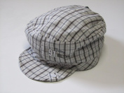 MaxiMo Tellercap with Print, 100% Cotton, Walnut, Size 53