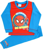 Boys Spiderman Ultimate Snuggle fit Pyjamas Size 18 Months to 5 Years