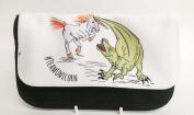 dinosaur vs unicorn unicorn vs dinosaur #teamdinosaur pencil case
