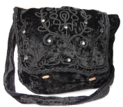 Gothic Victorian Renaissance Girls Punk Vintage Vamp Black College Shoulder Bag