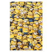 Sea of Minions Fleece Blanket