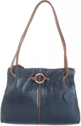 Gigi Othello Two Tone Soft Leather 3 Section Shoulder Handbag Various Colours - Best Seller 4323