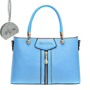 Micom 2015 Middle-sized OL Bags Solid Pu Leather Zipper Tote Shoulder Handbags Women Bags
