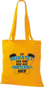Crocodile Fabric heiratet you, we are here are only from Mitleid Cotton Bags, Shopper bag, shoulder bag Various Colours