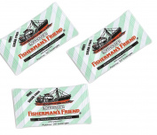 FISHERMAN'S FRIEND MINT Sugar Free Lozenges 3 x 25g FREE UK DELIVERY