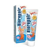 12pcs non flouride biorepair juniour kids microrepair toothpaste 50ml protect enamel & REPAIR from acid erosion and plaque files cracks / holes safe 0 -13ys