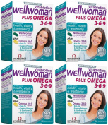 (4 PACK) - Vitabiotic - Wellwoman Plus | 56's | 4 PACK BUNDLE