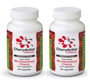 CherryActive Capsules 60 Pack of 2