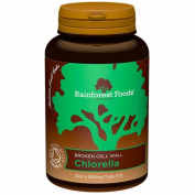 Rainforest Foods | Chlorella Tablets 500Mg | 6 x 300