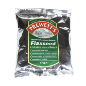Prewett's Organic Premium Ground Flaxseed 175 g
