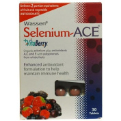 (10 PACK) - Wassen - Selenium ACE + Vitaberry | 30's | 10 PACK BUNDLE