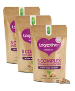 Together Vitamin B Complex, 3 Pack Offer, 3 Months Supply, Natural Food Source