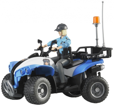 Bruder Police Quad Bike With Policeman And Accessories By Bruder Shop Online For Toys In Australia
