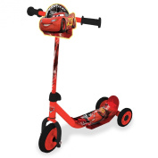 Child Disney Cars My First Tri-Scooter Adjustable Anti-Slip 3 Wheel Gift Present