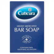 6 x Cuticura Mildly Medicated Bar Soap 100g