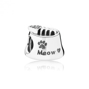 Pandora 791716CZ Cat Bowl Meow - New 2015