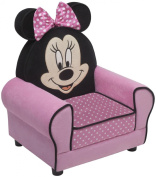 Delta Children Minnie Fig Upholstered Chair with Ear