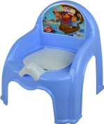 BLUE - CHILDRENS POTTY CHAIR EASY CLEAN KIDS TODDLER TRAINING TOILET SEAT BOYS GIRLS