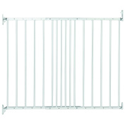 Safetots Extending Metal Gate White 62.5cm - 106.8cm