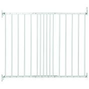 Safetots Extending Metal Gate White 62.5cm - 106.8cm
