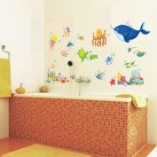 Under the Sea Wall Stickers/Wall decals/Wall tattoos/Wall transfers