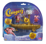 Clangers Musical Boat with 2 Figures