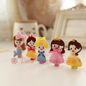 Lace Kenzola 5pc Toddler Princess Theme Hair Barrettes Set