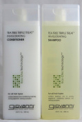 Giovanni Tea Tree Triple Treat , Duo Set Shampoo & Conditioner, 250ml Each Bottle