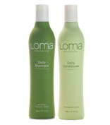Loma Organics Daily Shampoo & Conditioner 350ml Combo