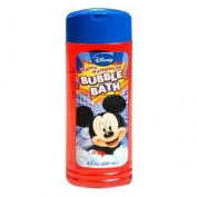 Mickey Bubble Bath 240ml in Flip Top Bottle cut