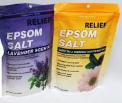 Epsom Salt soak, VARIETY PACK, Lavender, Chamomile