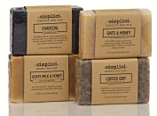 SIMPLICI Pure & Gentle bar soap 4-pack