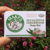 Makes 3 Organic Soap Bar, Eucalyptus Cedarwood, 120ml